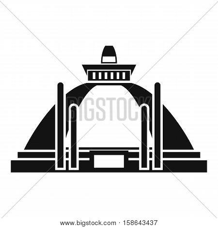 Polonnaruwa, ancient stupa icon. Simple illustration of Polonnaruwa, ancient stupa vector icon for web