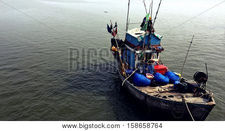 Fishery Boat Seascape Nautical Vessel Nature Concept
