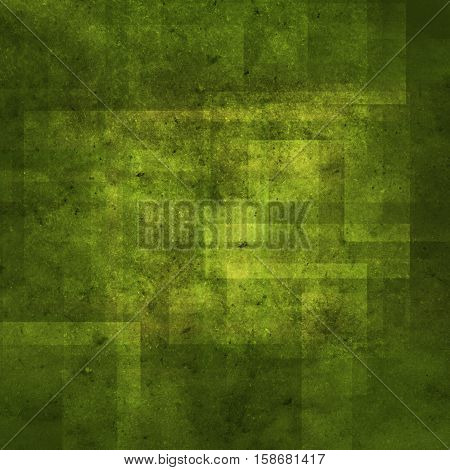 abstract colored scratched grunge background - green and yellow