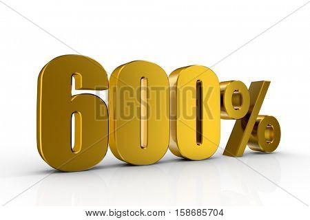 3d illustration 600%