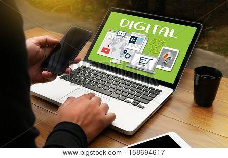 Digital Business Team Digital Device Technology , Digital Business Transformation , Hi-tech Technolo