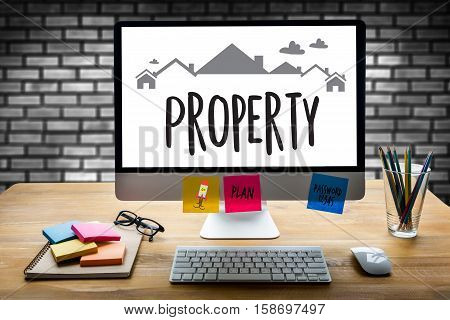 Property Residential Loan Purchase Agreement to Living Estate Mortgage loading real estate property Real Estate Property and Investment property management poster