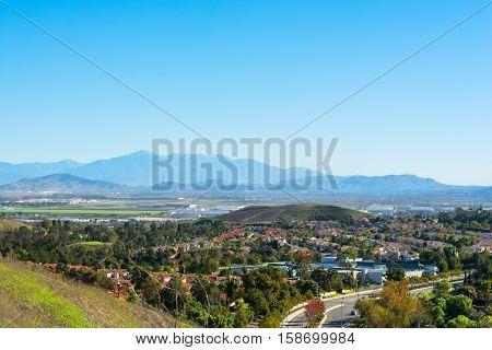 Middle class nieghborhood in Chino Hills California