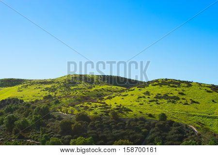 Rolling Green Hills in Chino Hills California