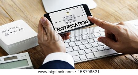 E-mail Message Inbox Communication Concept