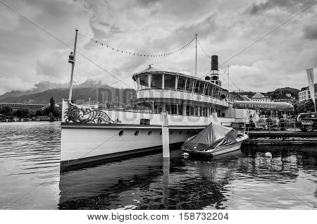 Lucerne Switzerland - May 24 2016: MS