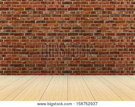 Empty room. 3D image