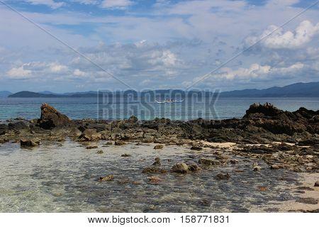 beautiful tropical islands -Port Barton, Palawan, Philippines