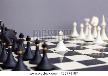 chess first move of the white pawn