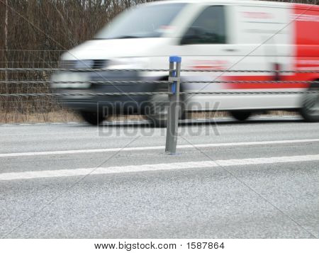 A Van In A Hurry