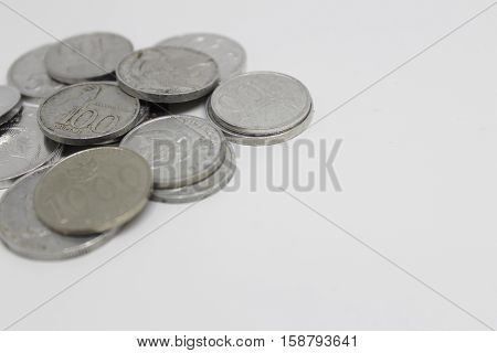 Indonesian rupiah currency exchange financial business economy coin