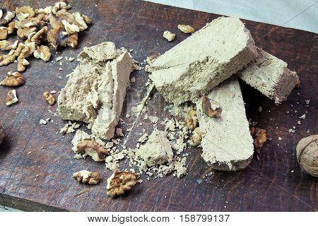 Halva And Nuts