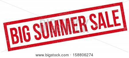 Big Summer Sale Rubber Stamp