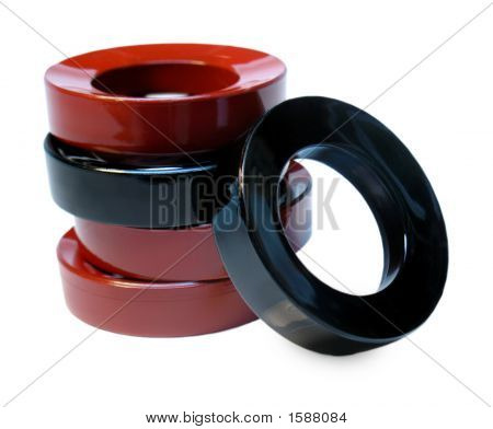 Japanese Lacquer Rings