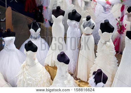 Wedding, Dress, Dresses, White, Beautiful, Bridal, Hanger, Beauty, Background, Fashion, Shop, Bride,
