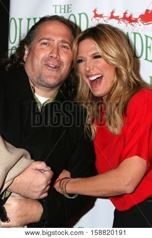 LOS ANGELES - NOV 27:  Alfred Hopton, Debbie Matenopoulos at the 85th Annual Hollywood Christmas Parade at Hollywood Boulevard on November 27, 2016 in Los Angeles, CA