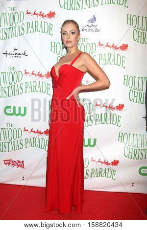 LOS ANGELES - NOV 27:  Julia Ara at the 85th Annual Hollywood Christmas Parade at Hollywood Boulevard on November 27, 2016 in Los Angeles, CA