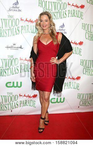 LOS ANGELES - NOV 27:  Jennifer Gareis at the 85th Annual Hollywood Christmas Parade at Hollywood Boulevard on November 27, 2016 in Los Angeles, CA