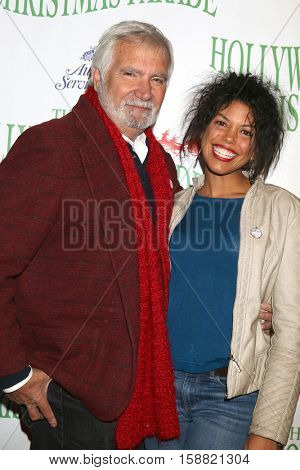 LOS ANGELES - NOV 27:  John McCook, Karla Mosley at the 85th Annual Hollywood Christmas Parade at Hollywood Boulevard on November 27, 2016 in Los Angeles, CA