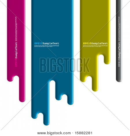 Vector Paint Dripping, Flasher Design