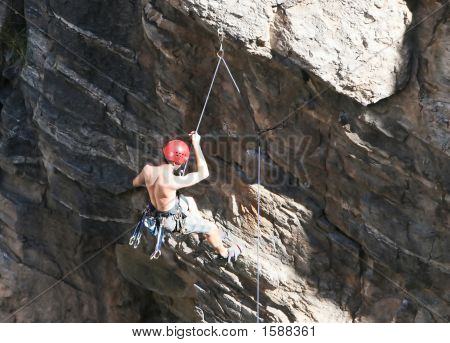Dangling Off A Cliff
