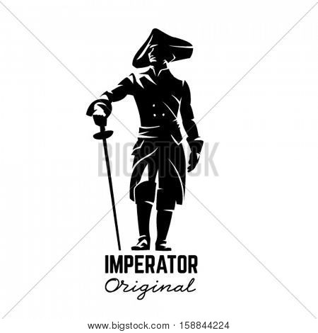 Silhouette of imperator