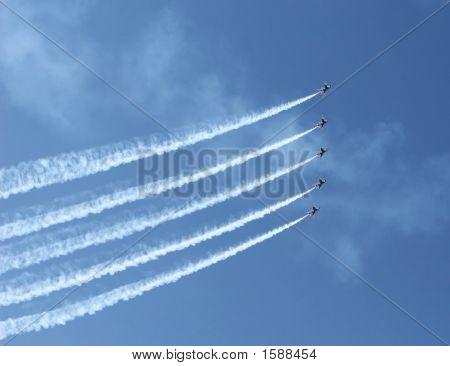 Five Jet Formation