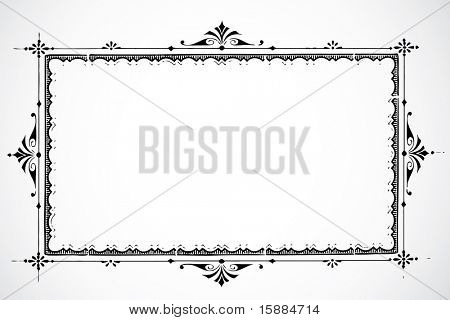 Vector Decorative Frame