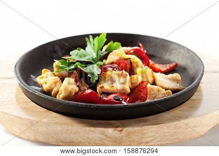 Asian Style Chicken Stir-Fry with Vegetables