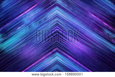 blue abstract triangle background texture with lines glitches distortion on the screen broadcast digital