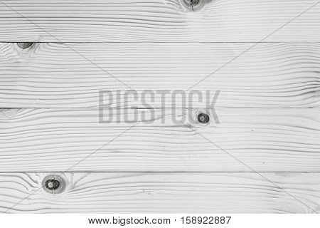 White wood texture -Background of old natural wooden planks