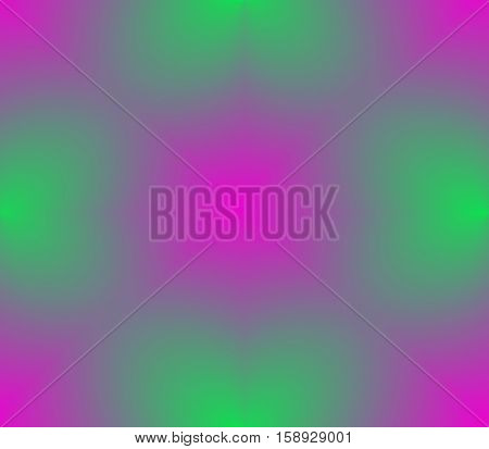 Abstract seamless pattern in pink and green with lines, spots, blotches, holes, patches of light and ribbons light and dark