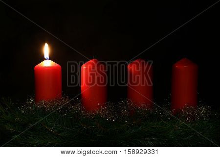 Internationally Holidays / 1. Advent / Advent is a season observed in many Western Christian churches as a time of