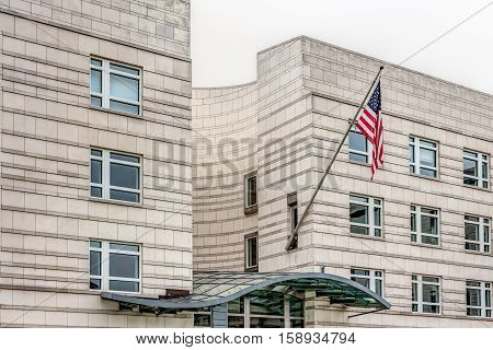 Embassy Of The Usa In Berlin