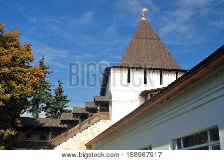 Holy Transfiguration Monastery In Yaroslavl, Russia.