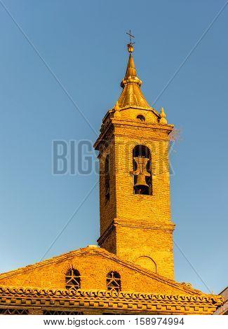San Nicolas de Bari church in Zaragoza - Spain