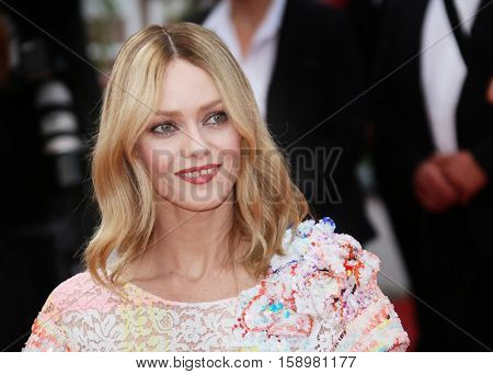 Vanessa Chantal Paradis attends the 'Cafe Society' premiere and the Opening Night Gala during the 69th Cannes Film Festival at the Palais des Festivals on May 11, 2016 in Cannes, France.
