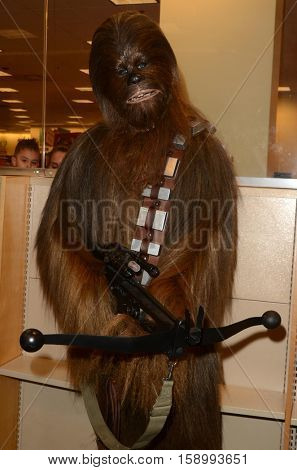 LOS ANGELES - NOV 28:  Chewbacca at the Book Signing for
