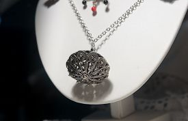 Jewel typical Sardinian filigree used by women as a pendant