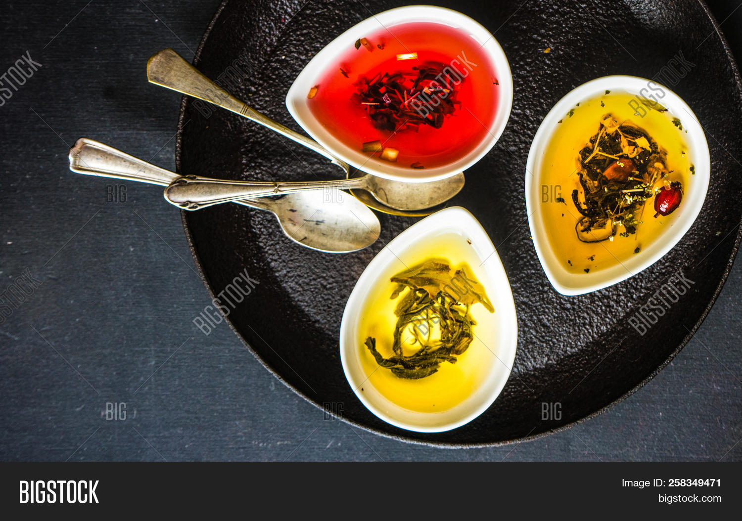 Different Types Tea Image Photo Free Trial Bigstock
