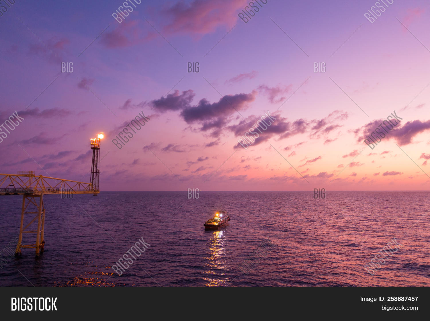 Flare Stack Flare Image & Photo (Free Trial) | Bigstock