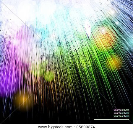 Furry abstract colorful background. EPS10 vector illustration.