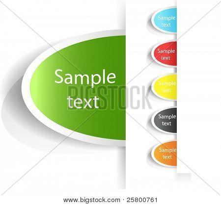 Vector Tag Label.