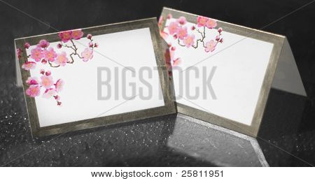Wedding Reception Table Place Cards