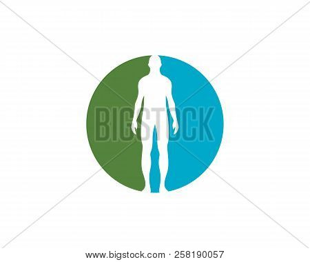 human anatomy logo vector photo free trial bigstock human anatomy logo vector photo free