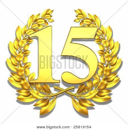 Number fifteen