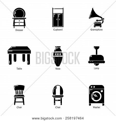 Lodge Icons Set. Simple Set Of 9 Lodge Vector Icons For Web Isolated On White Background