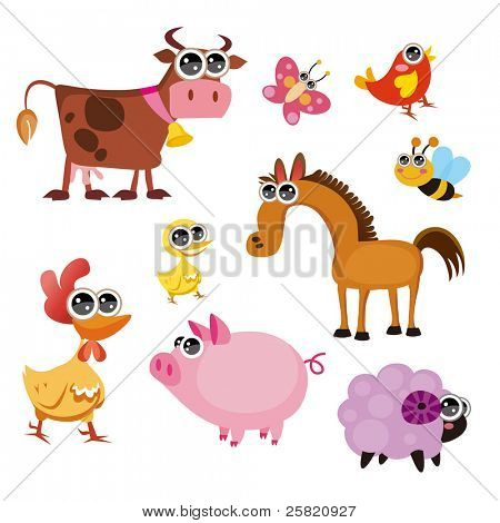Fun Farm animals