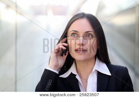 A Surprised Businesswoman