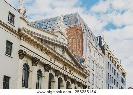 London, United Kingdom - August 13th, 2018: The Palladium Theatre In London City Centre